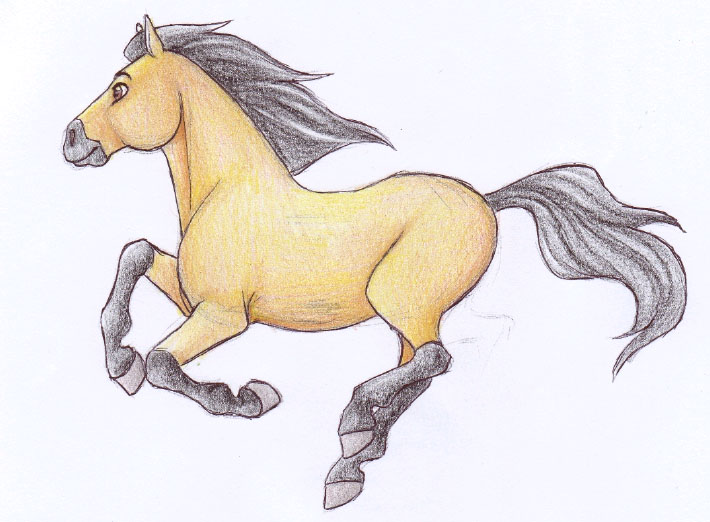 Spirit Cantering by gothic180 on DeviantArt