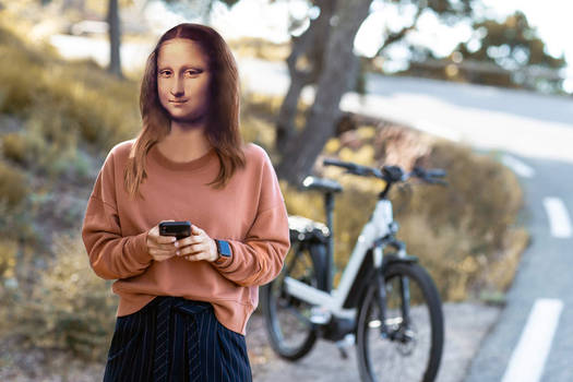 Mona in WhatsApp Action