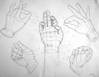 One of Us - hand study
