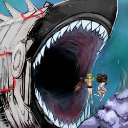 shark scene