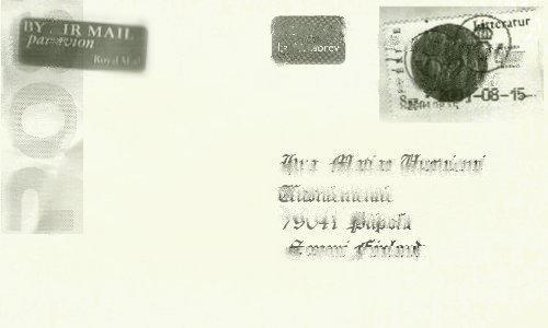 Kirje by sidney