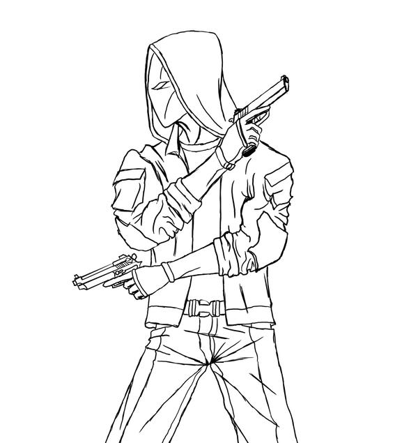 jason todd coloring pages - photo#8