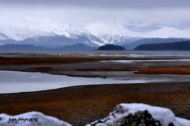 A Little Snow On the Flats by AlaskaGrl