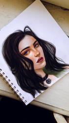Yennefer by Eluna-art