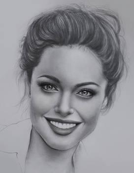 Pencil portrait.