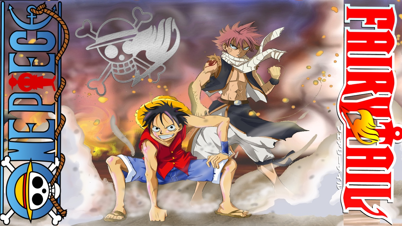 One Piece X Fairy Tail Wallpaper 1 By WeArFans