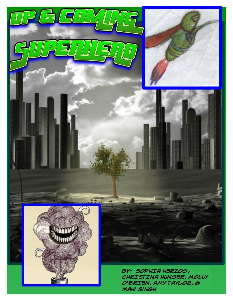 Comic Book for Chemistry pg 1