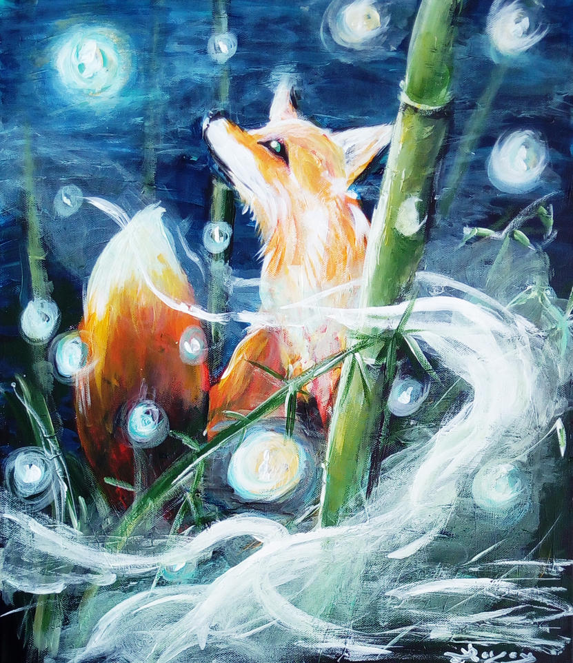 The fox dream by Persona-Morgane