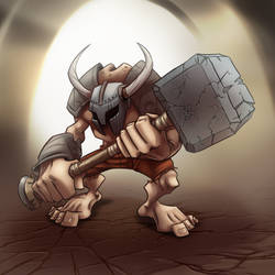 Hammer Brute by madebydori