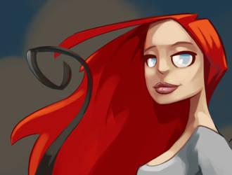 Redhead by madebydori