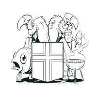 New crest for Iceland