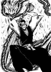 Saitou Hajime - Bleach RPG by Civis-Romanus-Sum