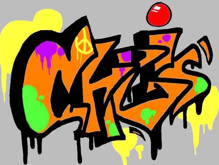 chris graffiti by asreelk on DeviantArt