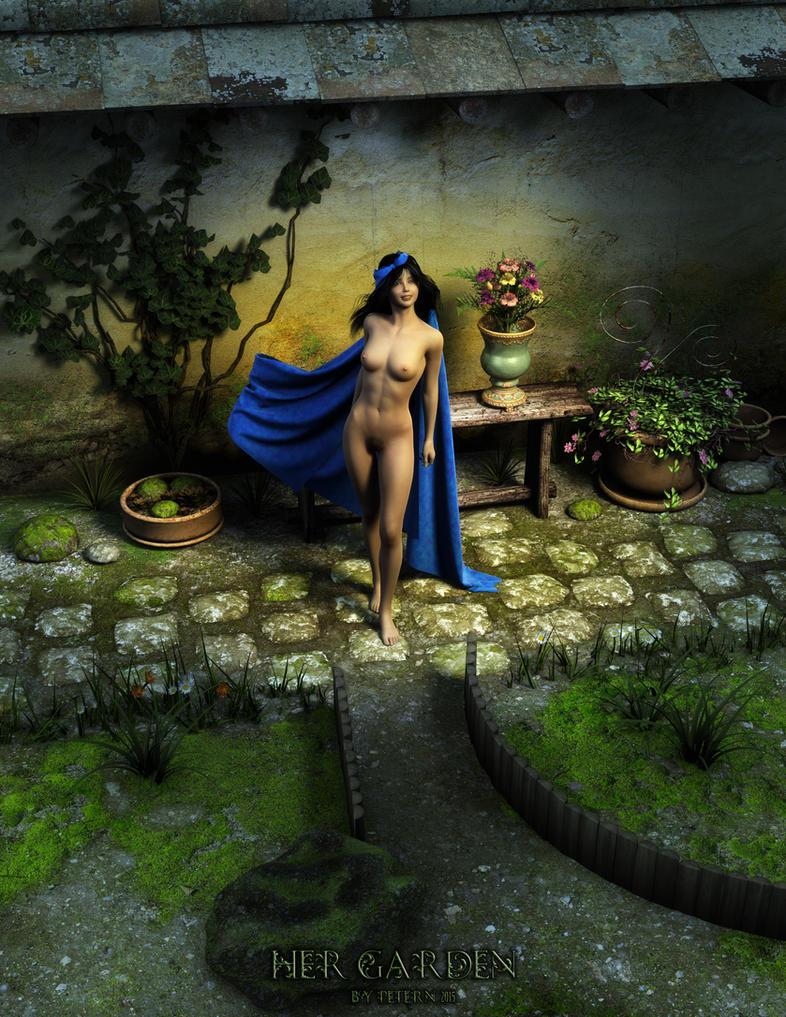 Her garden by PeterN64