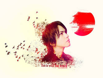 Pray For Japan Gambaru Japan by rifani89