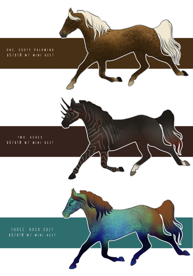 ADOPTABLES: FLAT-DRAWINGS by elegant--tragedy