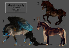 MINI REF ADOPTABLES: USD SALES {ALL SOLD} by elegant--tragedy