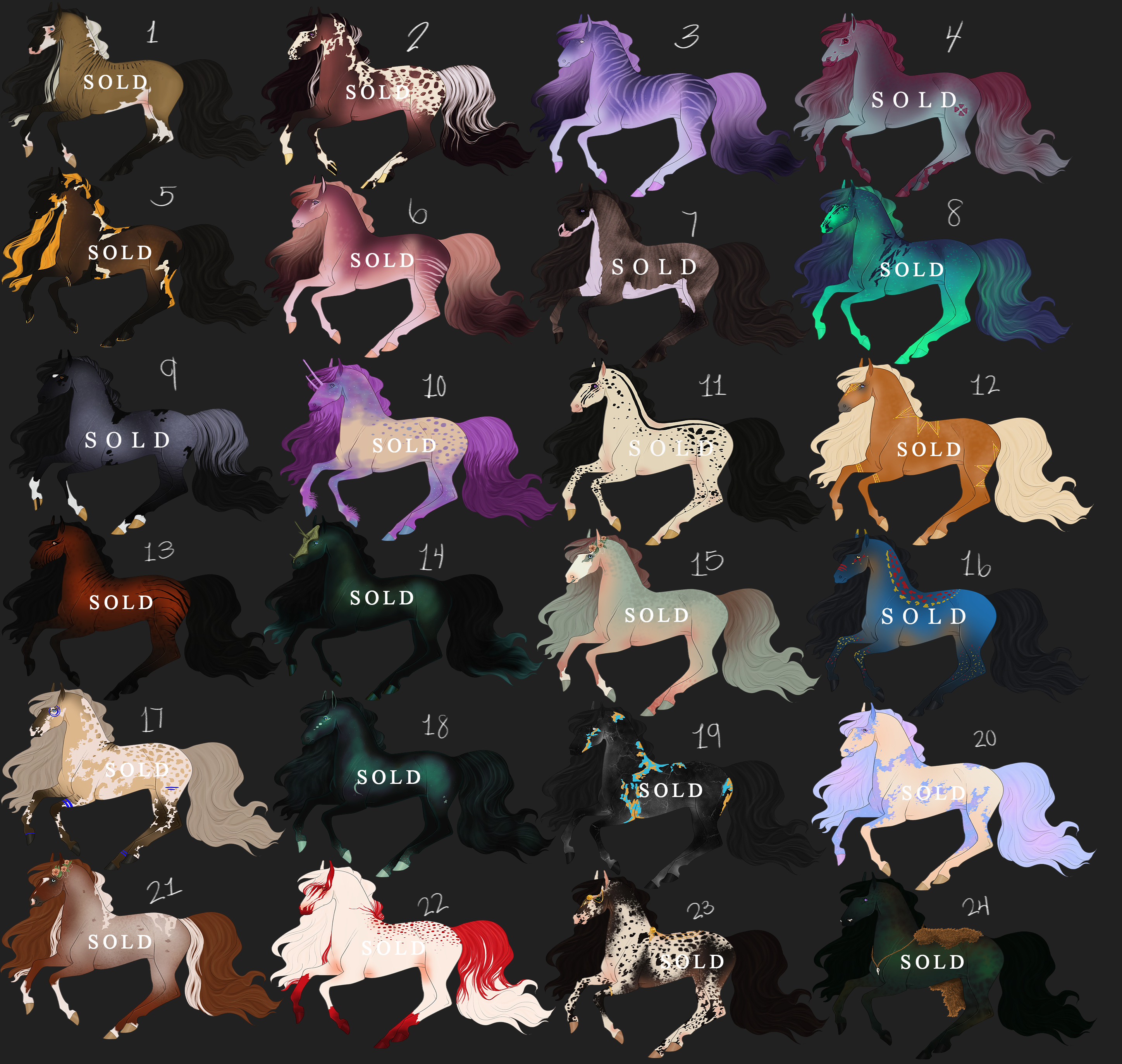 FLAT SALE ADOPTS: $4 LOWERED {1 AVAILABLE} by elegant--tragedy