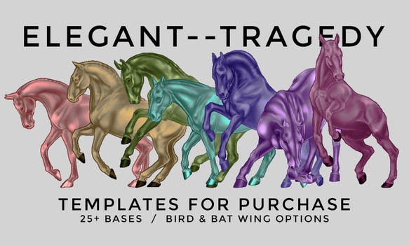 ELEGANT TRAGEDY TEMPLATE BASES FOR PURCHASE