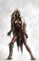 Female Shaman Concept by M1keN