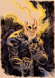 Ghost Rider by Hyxs