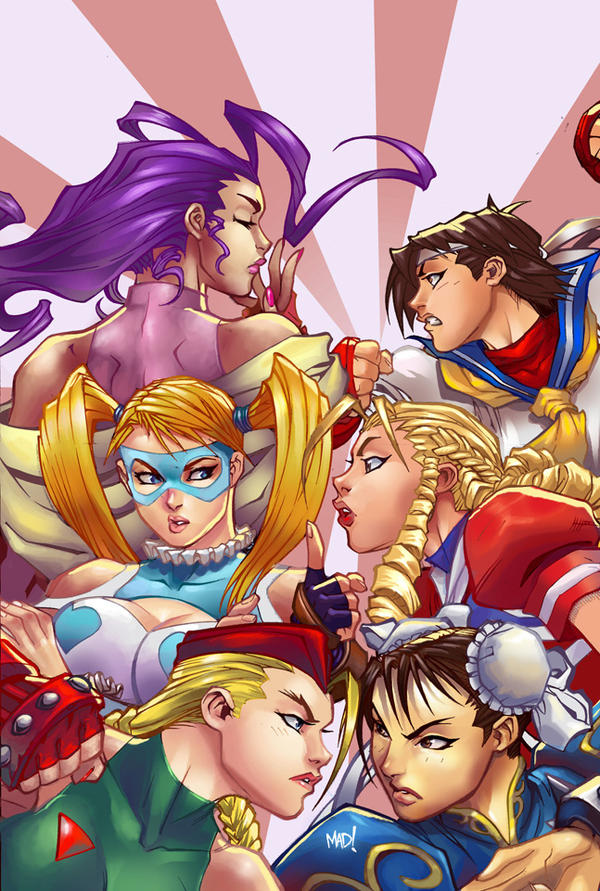 4 - Street Fighter Girls by IvannaMatilla