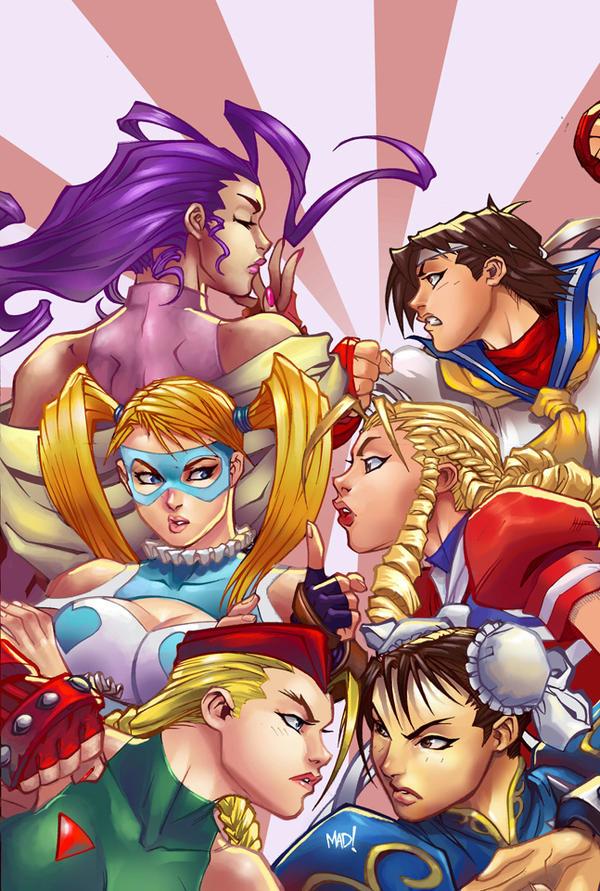 4 - Street Fighter Girls by IvannaMatilla
