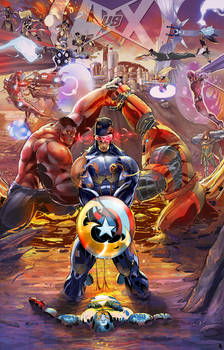 Avengers vs. X-Men Tribute Battle