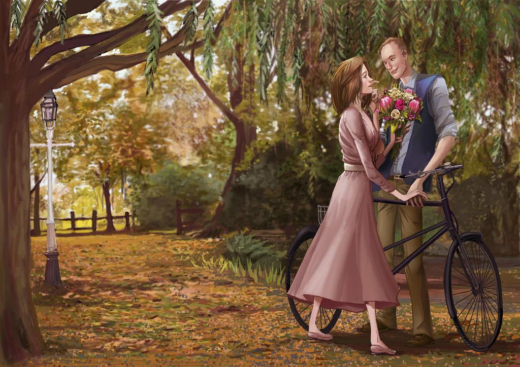 Ellen and Richard by IvannaMatilla