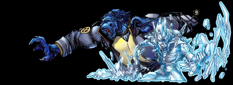 Beast and Iceman by IvannaMatilla