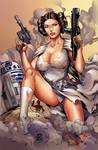 Princess Leia in action