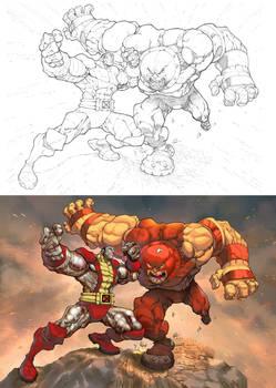 Colossus vs Juggernaut