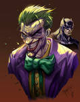 The Joker and Batman