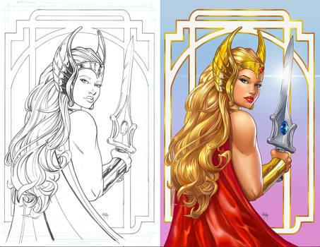 She-ra colors