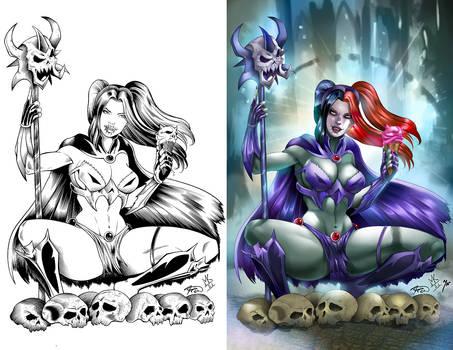 Skeletor cosplay