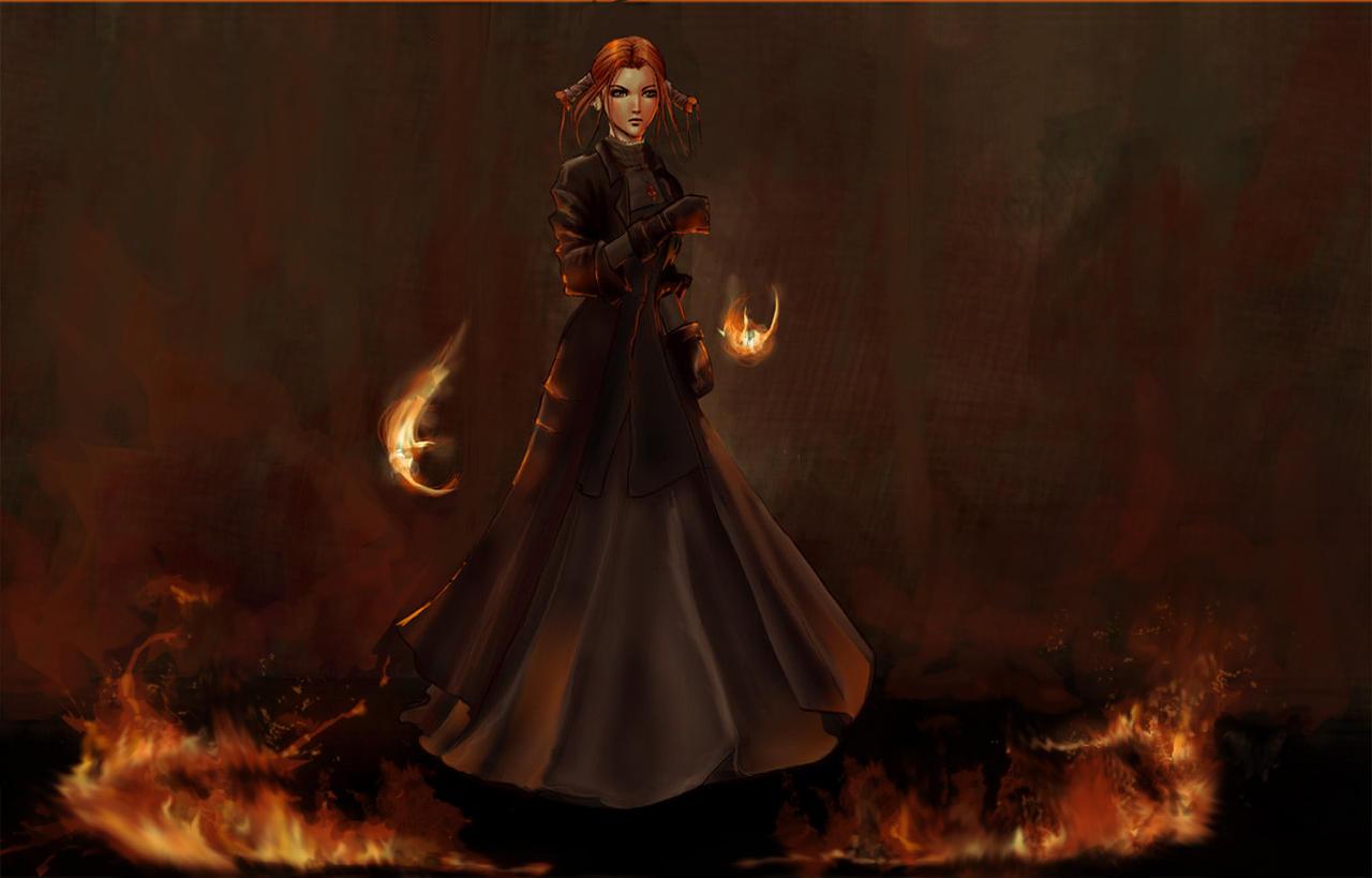 Robin Witch Hunter by IvannaMatilla