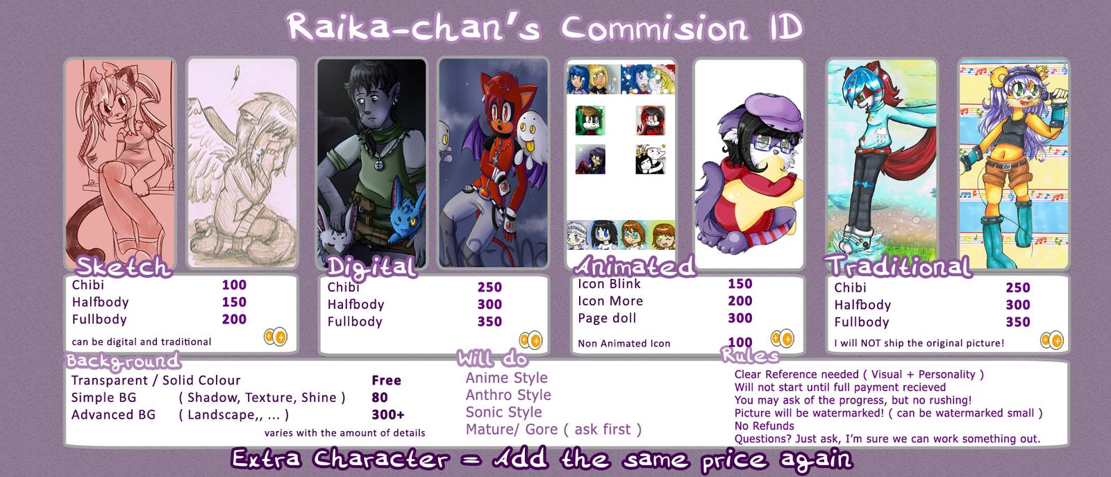 .: Raika-chan's Commission ID 2014 :. by Raika-chan
