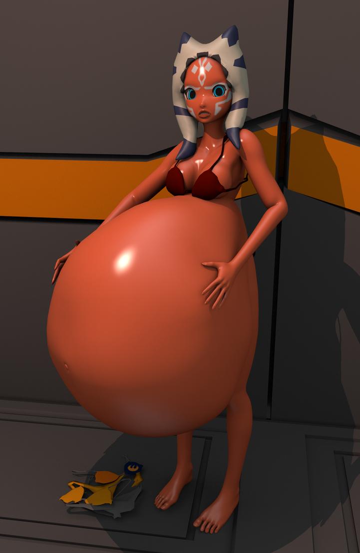 Ahsoka from star wars breast expansion hentay scenes