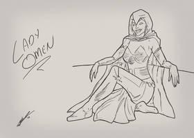 Lady Omen by Juggertha