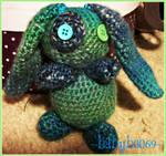 SeaMist Misfit Bunny Amigurumi