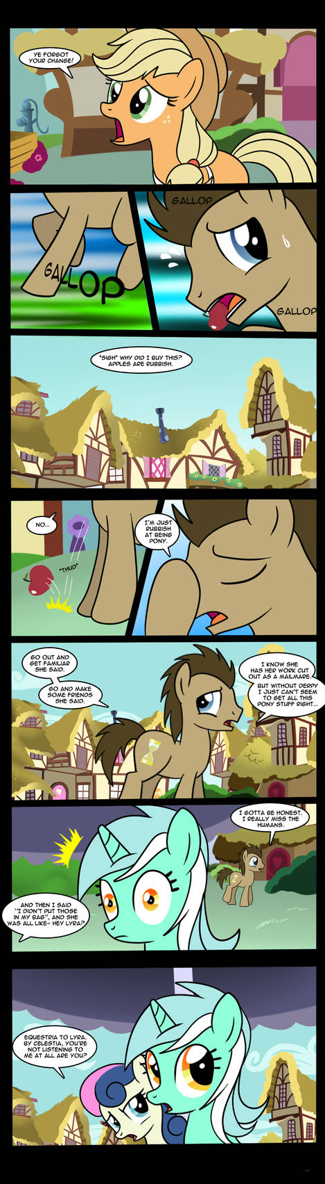 Doctor Whooves-This Is Where It Gets Complicated 1 by Edowaado