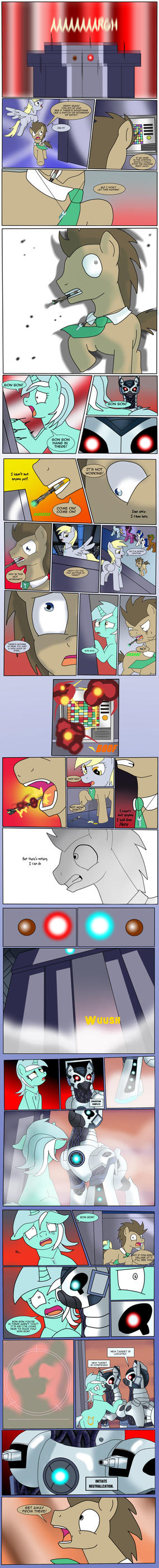 Doctor Whooves - Upgrade Pt 7 by Edowaado