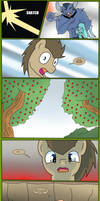 Doctor Whooves - Fall pt 6 by Edowaado