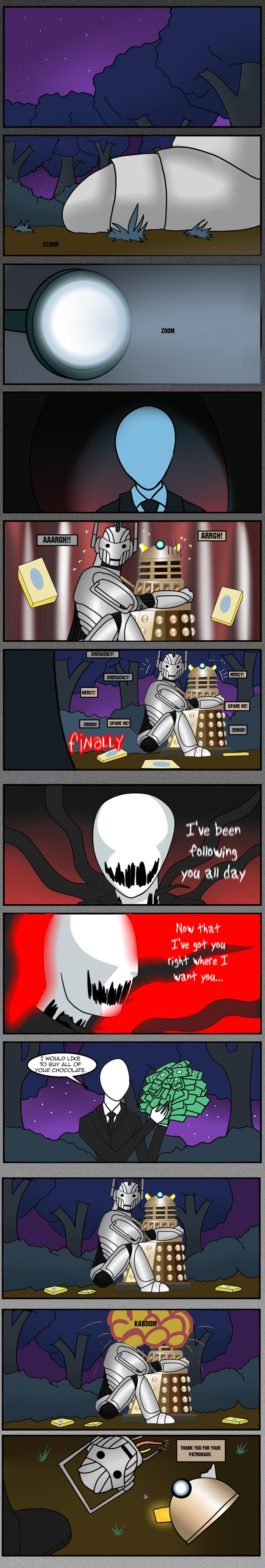 slender mans one weakness crossovers fimfiction