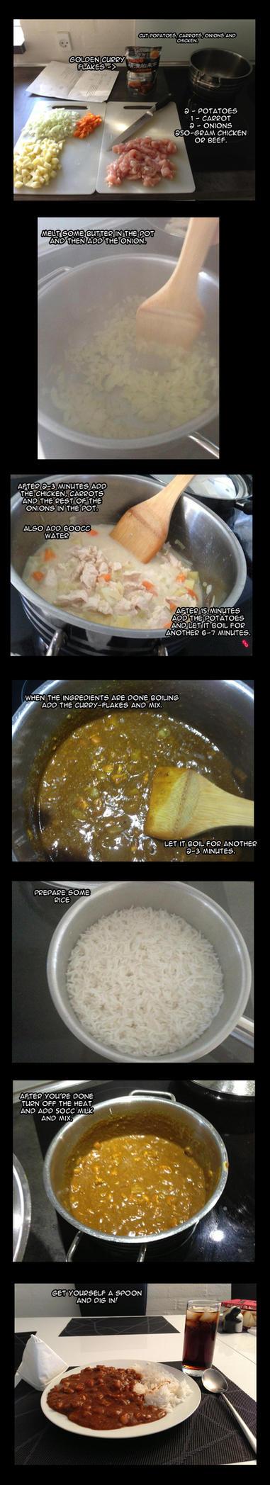 Homemade Japanese - Golden Curry by Edowaado