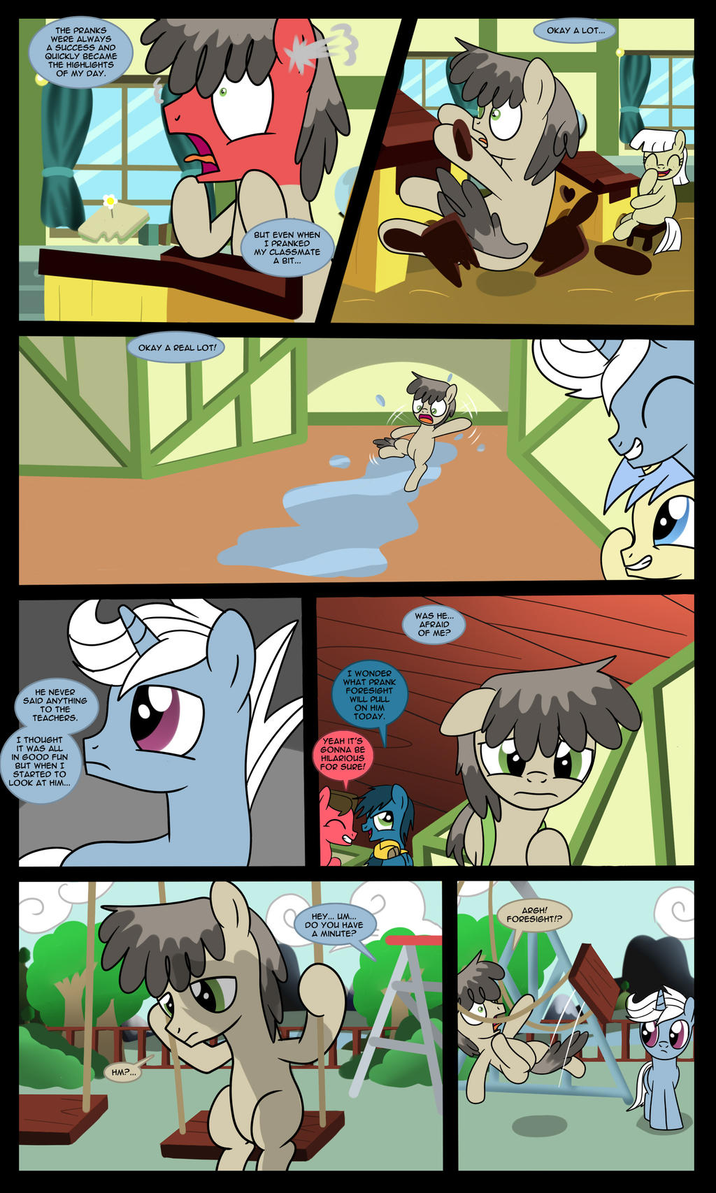 Foresight - I'm Not Your Hero - Part 5 by Edowaado