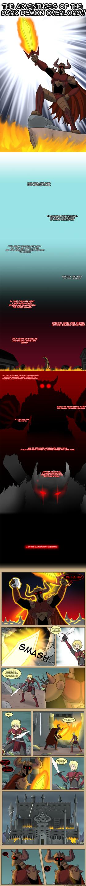 THE ADVENTURES OF THE DARK DEMON OVERLORD! Pt.1 by Edowaado