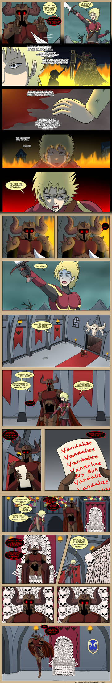 THE ADVENTURES OF THE DARK DEMON OVERLORD! Pt.2
