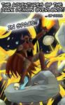 The Dark Demon Overlord in Space!(Cover Idea#2)