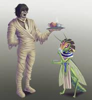 Barbarian Mummy Butler by Edowaado